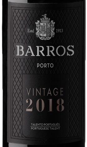 Barros 2018 Vintage port