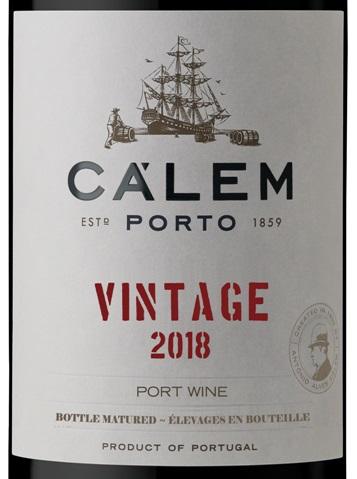Cálem Vintage port 2018