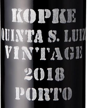 Kopke Quinta S. Luiz Vintage port 2018