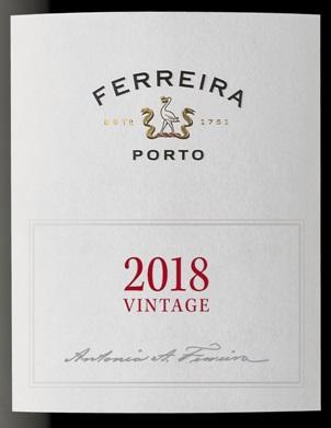 Ferreira Vintage port 2018
